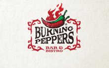 Burning Peppers image