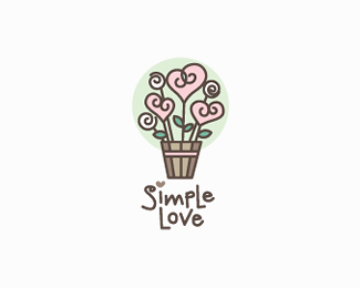 Simple love image