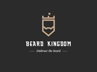 Beard Kingdom Logo image
